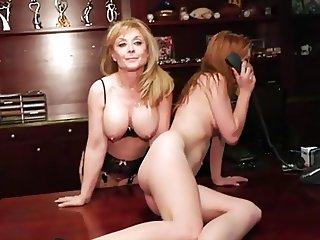 Bossy Lesbian Secretary - Steamystick