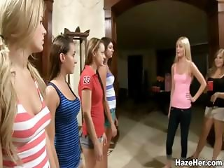 College girls forced to strip