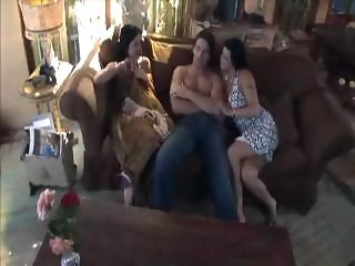 Lanny Barby And Her Sister Fuck A Guy