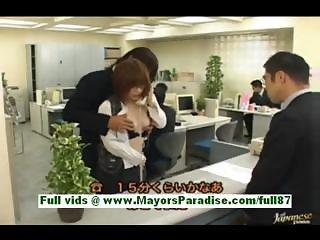 Azusa itagak horny secretary at work