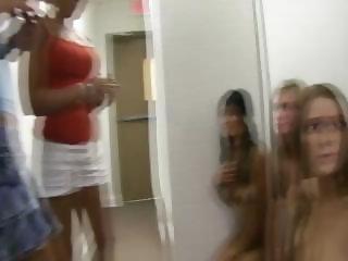 Teens hazed naked line up