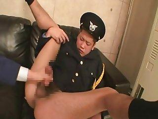 Japanese police sex slave