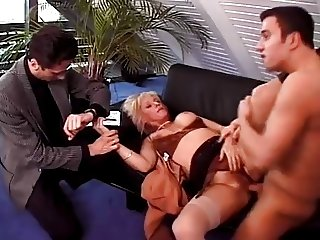 Mature mom Fucks Her BF And The Doctor