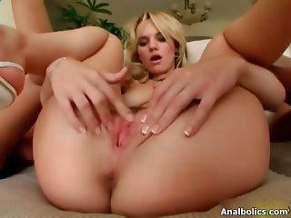Hot lesbians go crazy finger fucking part6