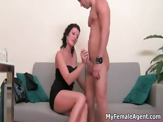 Hot strong guy is being asked dirty porn part1