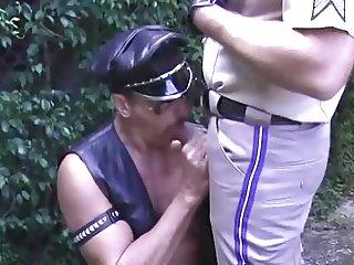 Uniform Daddies In Heat - Cop & Leather Man