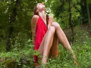 Natasha forest cheerleader from Russia
