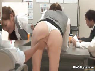 Shy Japanese girl showing her fine ass part6