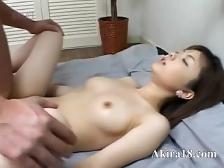 Japanese faggot licking super hairy cunt