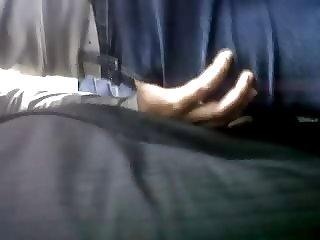 GIRL ENJOY DICK RUB IN BUS