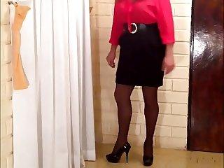 Crossdress Secretary 01