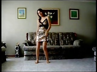 Dancing in the living room