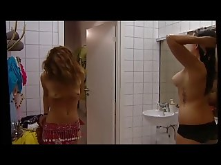Swedish topless girls on TV