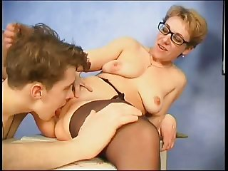 Mature teacher & younger guy
