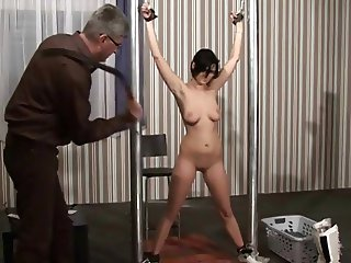 18yo Alexandra student BDSM real casting