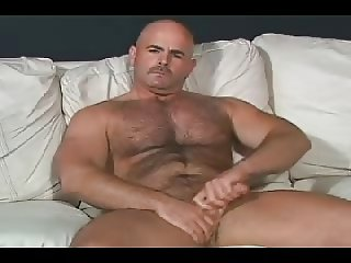 Hairy bear jerking