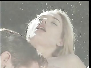 Huge load in the mouth for a sexy young blonde who loves to get fucked
