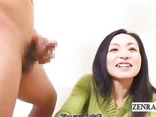 Subtitles CFNM Japan milf oral interview