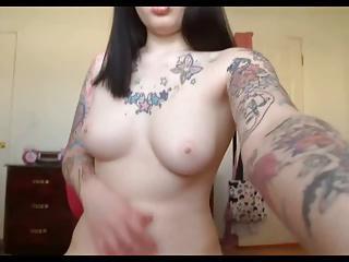 Amateur Emo Girlfriend Webcam Fuck