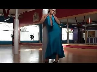 Zumba Princess Dancing at the Studio