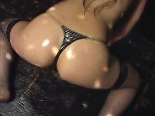 Micro Bikini Oily Dance 1 Scene 3 - Aya Fukunaga