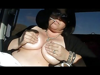 Hot Curvy Mature Solo Smoking and Teasing