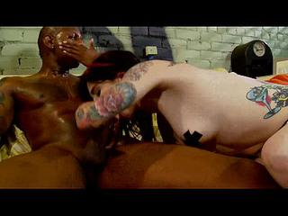 Angel Joanna enjoys big black dick