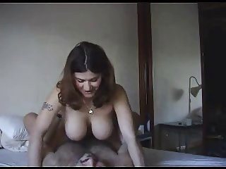 Nice busty Teen BJ and riding