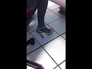Fabulous colleague's shoes