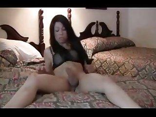 Adorable TGirl butt fucked