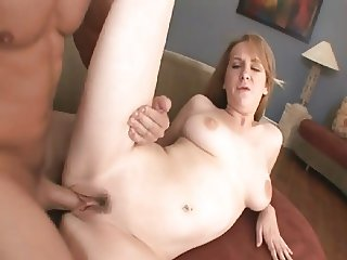 Shy Young Redhead does audition