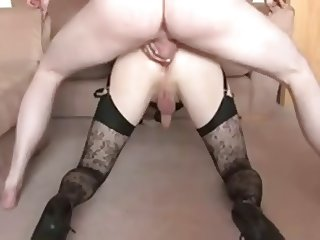 Crossdresser Sucking & Fucking