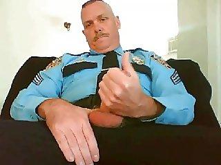 Uniform jack off