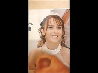 Sylvie bride slut honored for Gregoanonyme