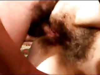 Husband fuck hairy wife ass!Russian amateur!
