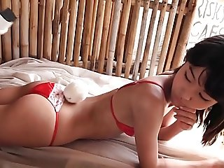 softcore asian swimsuit bikini tease