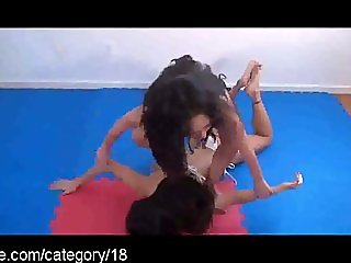 Tons of Female Wrestling Action at Clips4sale.com