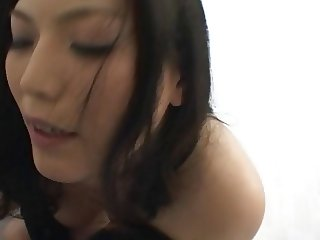 Japanese Babe Riding Her Slave On A Chair