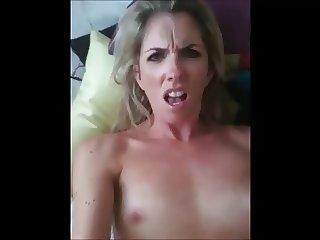 MILF Office Slut Self Fucks & Cums Hard