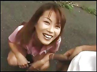 JAP outdoor milf