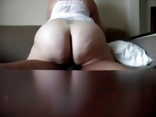 nice big white ASS ride a BBC