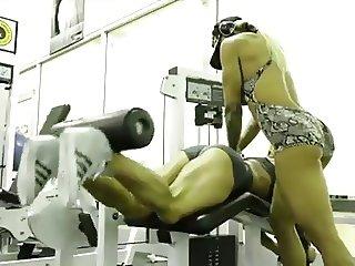 FBB MILF Sexy Muscle Tease - Ameman