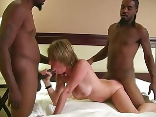 White Slut BBC Double-Creampied