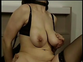 Mature Woman with Big Saggy Tits