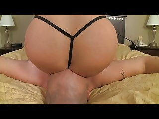 PAWG Smothers Her Slave