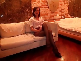 Legs Pantyhose fuck of beauty, such as the antelope