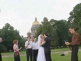New Bride In Public Park...F70