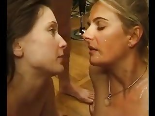Rich Mature and her Teen Maid gangbanged by men