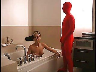 Cucolded handjob at Bath