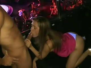 She Get Fucked At The Club Party